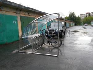 Стоянка для велосипеда Крытая